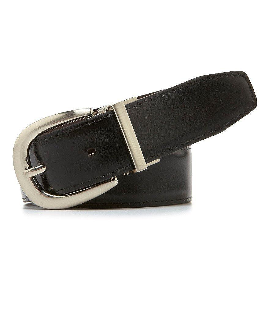 26-28 Dillard`s Class Club Boys Reversible Harness Belt Brown//Black Gold Label