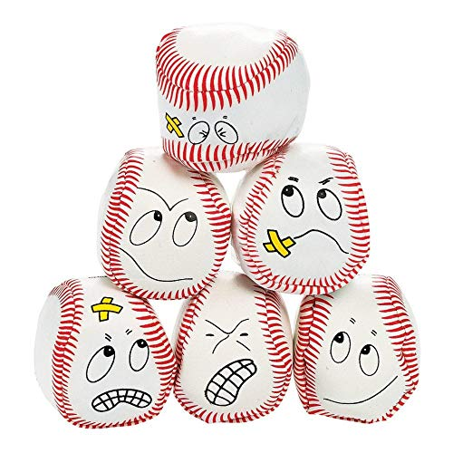 (Fun Express - Vinyl Baseball Kick Balls - Toys - Balls - Kick Balls - 12 Pieces)