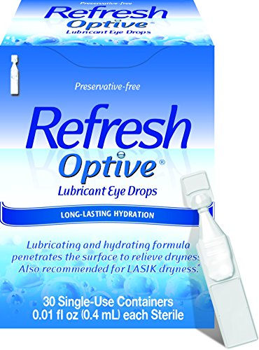 - Refresh Optive Lubricant Eye Drops, 30 Single-Use Containers