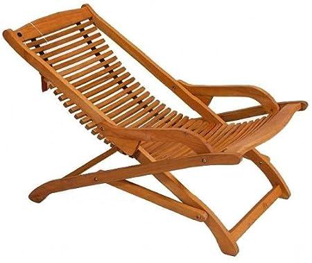 Manhattan Relexer Recliner Chair Wood Garden Furniture