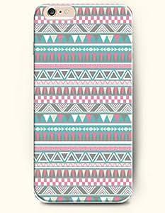 SevenArc Aztec Indian Chevron Zigzag Pattern Hard Case for Apple iPhone 6 Plus 5.5' (2014) Retro Geometric Aztec...