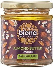 Biona Organic Almond Butter - Smooth, 170g