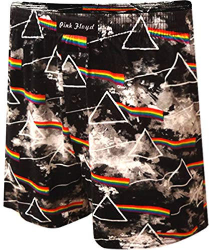 (Pink Floyd Dark Side Of The Moon Boxer Shorts for men (Small))