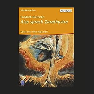 Also sprach Zarathustra Audiobook