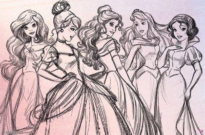 22x34 Disney Princess Pretty Princess Poster By Poster