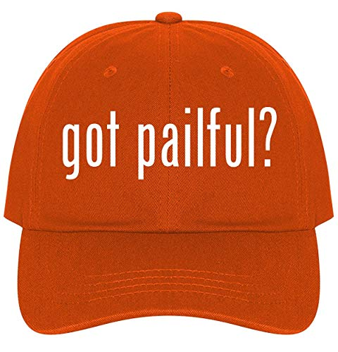 - The Town Butler got Pailful? - A Nice Comfortable Adjustable Dad Hat Cap, Orange