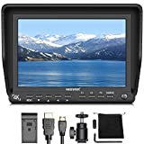 Neewer 7 inches 4K HD On-Camera Field Monitor with HDMI Input and Output Signals IPS Screen 1920X1200 for Canon Nikon Sony Olympus Pentax DSLR Camera Camcorder(Power Supply and Battery Not Included)