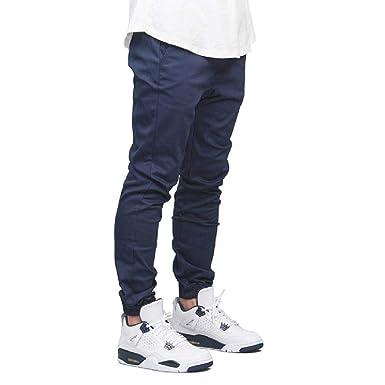 Pantalones de chándal para Hombre Moda Otoño Hip Hop Harem Stretch ...