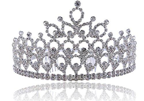 Exquisite Headpiece Crown Wedding Dinner Sell Hot Masquerade Costume Accessories Wedding Bridal Princess Queen Headband