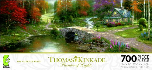 Ceaco Thomas Kinkade Panoramic - The Valley Of Peace ()