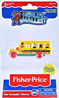 World's Smallest Fisher Price School Bus Collectable