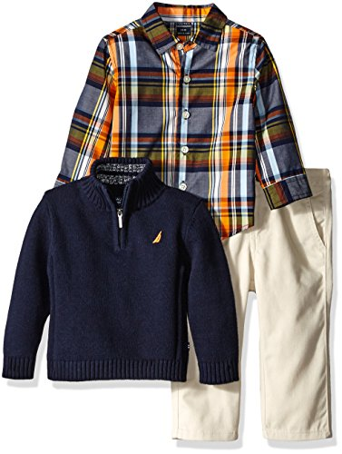 nautica-baby-three-piece-set-with-woven-quarter-zip-sweater-flat-front-twill-pants-sport-navy-12-mon