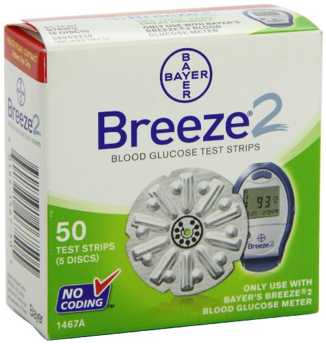 breeze 2 test strips 50 count - 1