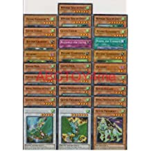 Yugioh Gusto Deck Builder Lot 28 Cards Set with Free Yugioh Figure