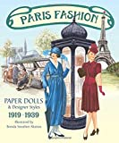 Paris Fashion Paper Dolls and Designer Styles 1919-1939