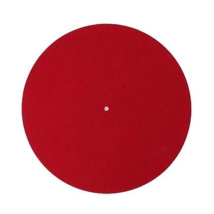 Platino de Tocadiscos Slipmat Audiophile 3 mm Fieltro Platter ...