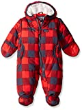 Osh Kosh Baby Heavyweight Pram Suit, Red Plaid, 6/9 Months