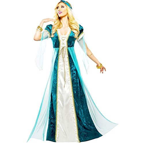 [Women's Emerald Juliet Costume, Small(4-6)] (9 To 5 Costumes)