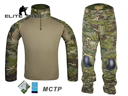 Airsoft caza táctico militar para Bdu combate G2uniforme camiseta pantalones Multicam Tropic Tactical Outdoor