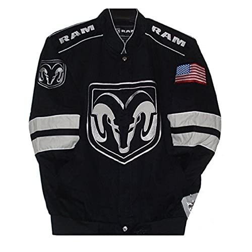 Cheap Dodge Ram Embroidered Cotton Twill Jacket Size XLarge supplier