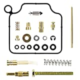 QAZAKY Replacement for Carburetor Rebuild Carb Repair Kit ATV TRX350 Rancher TRX350TM TRX350TE TRX350FM TRX350FE 2000 2001 2002 2003