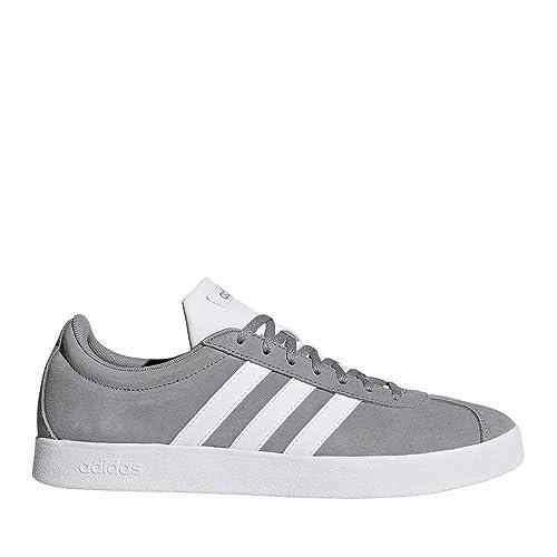 on sale 417ed a51d9 Adidas VL Court 2.0, Zapatillas de Deporte para Hombre  Amazon.es  Zapatos  y complementos