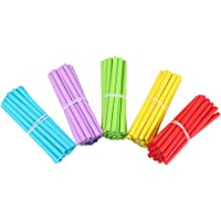 STOBOK Math Wooden Counting rods Kids Preschool Educational Toys Counting rods for Arithmetic Learning 100pcs