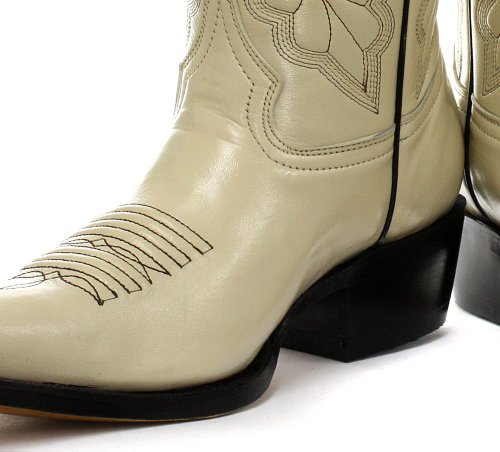 Grinders Dallas Cream Womens Cowboy Boots 6Q1ZUAQzt
