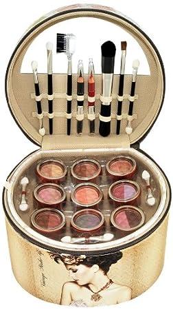 Coffret cadeau coffret maquillage mallette de maquillage vintage - 36pcs Gloss! 16817-VINT01