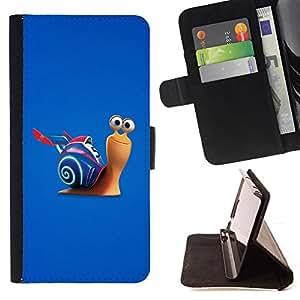 - Fast Snail/ Personalizada del estilo del dise???¡¯???¡Ào de la PU Caso de encargo del cuero del tir???¡¯????n del s - Cao - For Samsung Galaxy S6