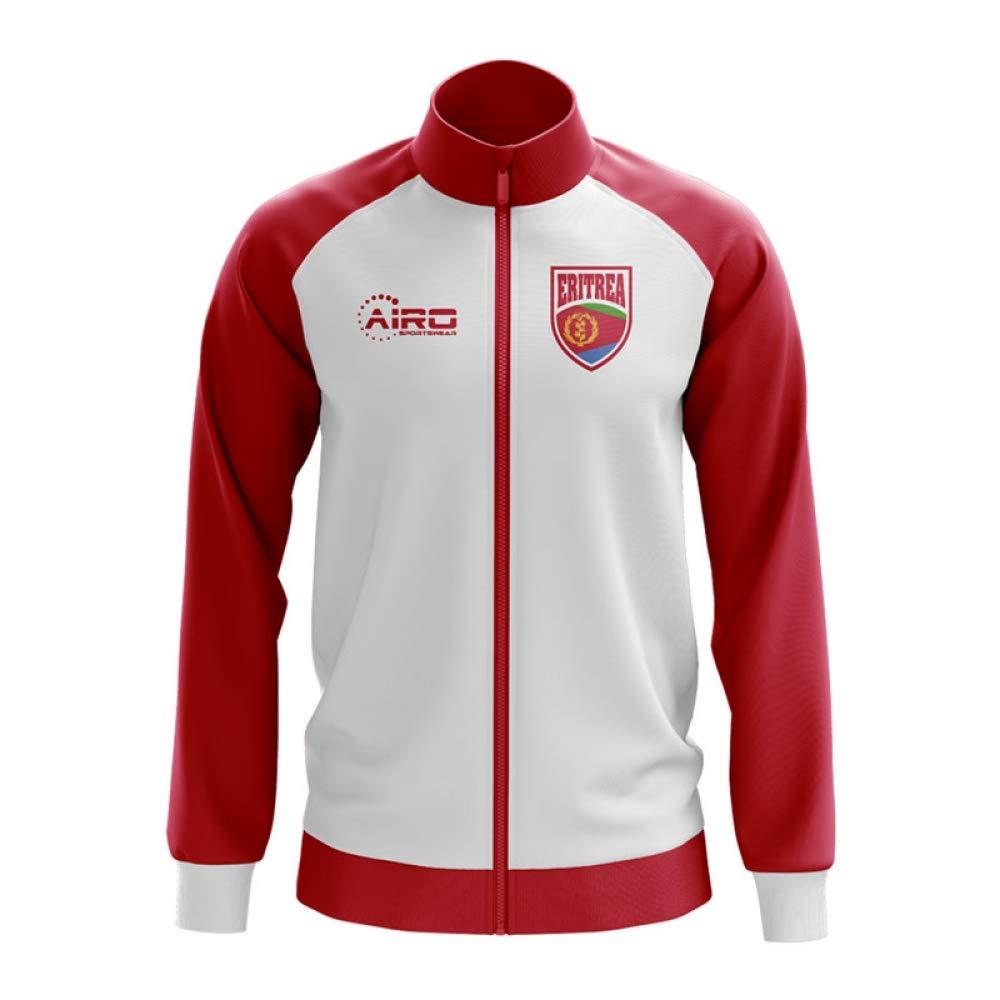 Airo Sportswear Eritrea Concept Football Track Jacket (Weiß) - Kids