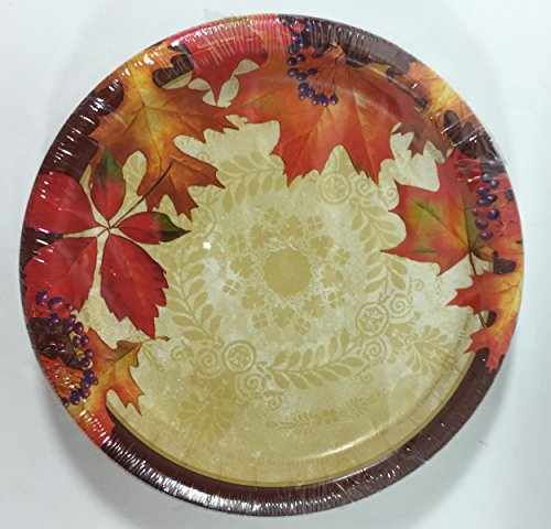 ... 30 Small Plates 36 Napkins - 84 Pieces red and gold 1 customer reviews. Item Sku FXHO0165J077J Features u0026 Description SKUB0165W077W Hover ... & Party Supplies - Leaves of Fire Paper Plates and Napkins for Fall ...