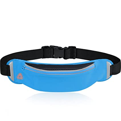 73b137fc2677 Amazon.com: Zxcvlina Cloth Single Mouth Fanny Pack Anti-Theft Mobile ...