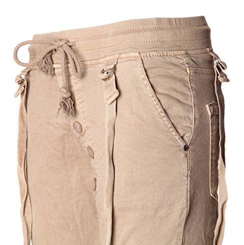 Basic Beige Pantaloni de Basic Donna de nTgxWfqX