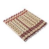 MagiDeal 10 Unids/Caja Cinco Años Puro Moxa Roll Stick Viejo Moxa Roll Para Moxibustión