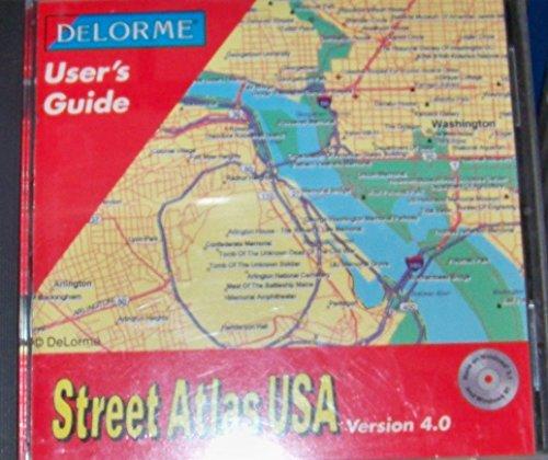 Maps Pc Delorme - Street Atlas USA: Version 4.0 for Windows