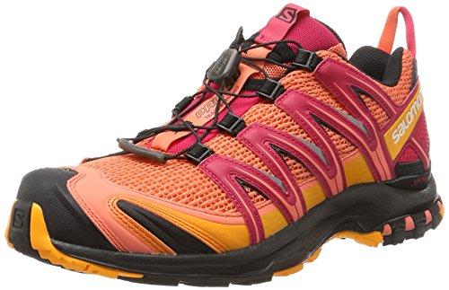 Naranja Pink De Salomon Running Xa 3d W Virtual living Zapatillas Black Mujer Pro Para Coral Trail vxUxZnS