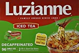 Luzianne Decaffeinated Iced Tea 96 Family Size Bags