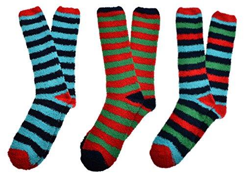 WB Socks 3 pares de calcetines de Fluffy suave y cálida hombres: Amazon.es: Ropa y accesorios