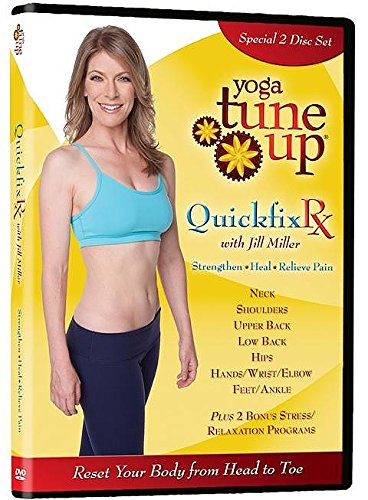 Yoga Tune Up QuickFix Rx: Upper and Lower Body 2 Disc DVD Set (Need Frisbee)