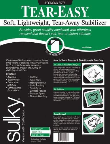 Neww Tear-Easy Stabilizer-20