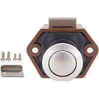 geneic Diameter 20mm Camper Auto Push Lock RV Caravan Boot Lade Klink Knop Sloten Voor Meubilair Hardware