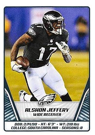 half off 22ca6 5f9c9 Amazon.com: 2019 NFL Stickers Collection #328 Alshon Jeffery ...