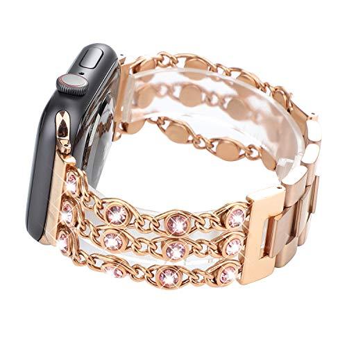 da4fe7eed6748 WONMILLE Bracelet for Apple Watch Band 38mm 40mm 42mm 44mm ...