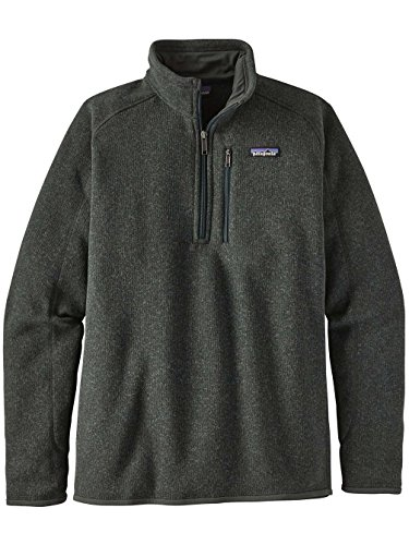 Patagonia Men's Better Sweater 1/4-Zip Fleece (X-Large, (0.25% Carbon)