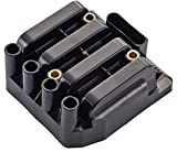 Ignition Coil Pack for Volkswagen 2.0L L4 Compatible with UF484 C1393 5C1390