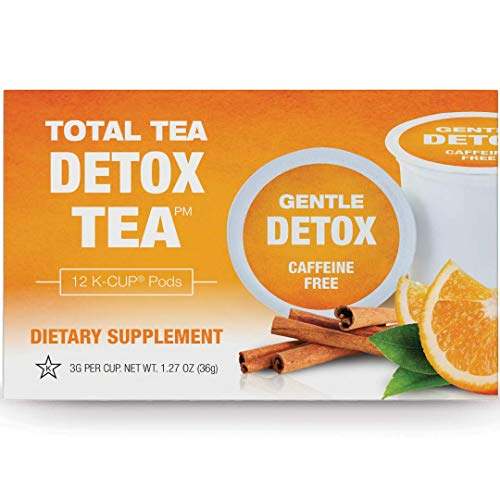 Total Tea Gentle Detox Tea Kcup - 12 Herbal Tea Pods