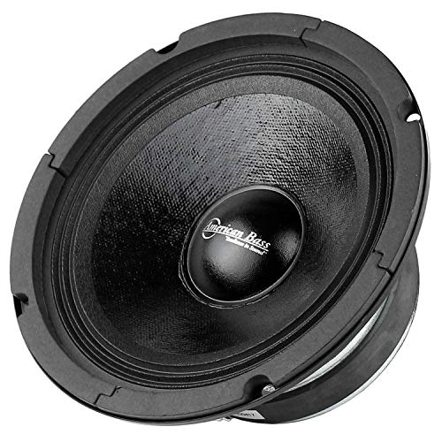 American Bass 6.5 (SQ65CBX) closed back midrange speaker with grill by American Bass (Cone Mid Bass)