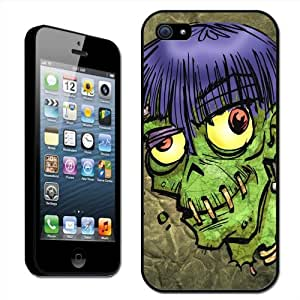 Fancy A Snuggle - Carcasa rígida para Apple iPhone 5, diseño de zombi
