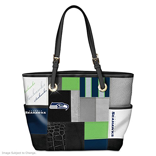 For The Love Of The Game NFL Seattle Seahawks Tote Bag by The Bradford Exchange